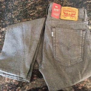 Levi's 519 Extreme Skinny Striped Jeans Men 30x30